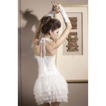 "Corset ""Imperial"" blanco"